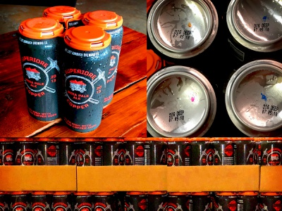 Superiore Copper IPA Can Release candrop canrelease canart beer art brewery lostboroughbrewing beer branding beer superiore copper ipa india pale ale michigancopper hops