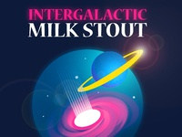 Intergalactic milk stout