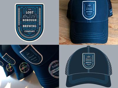 Borough Adventure Badge Trucker Hats