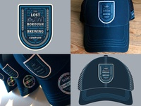 Borough Adventure Badge Trucker Hats