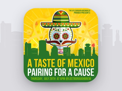 Art of The Craft - A Taste of Mexico Pairing 🇲🇽🌮🍻