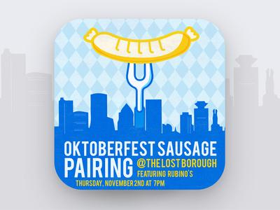 Art of The Craft - Oktoberfest Sausage Pairing 🍁🌭🍻