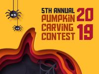 5th Annual Pumpkin Carving Contest 🎃🔪🍺 carving pumpkin beer beer branding lostboroughbrewing brewery beer art