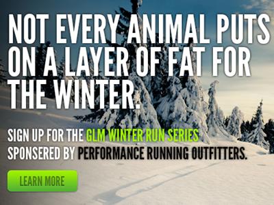 Performance Running Website Slider running website