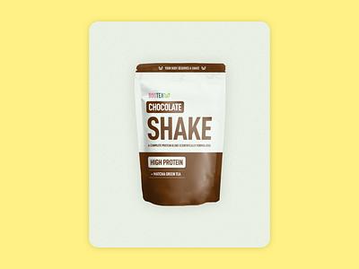 Bootea Shake Facebook Ad illustration branding packaging design