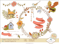 Fall Delight - Clipart&Vector