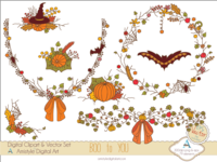 Boo to You - Halloween Clipart&Vector