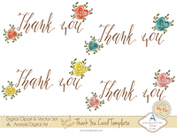 Thank You Card Templates