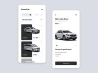 Rental Car App