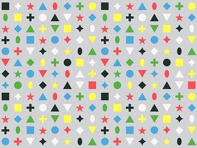 Shape Patterns texture illustration design graphic symmetrical pattern shapes