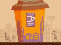 Kredens cafe poster