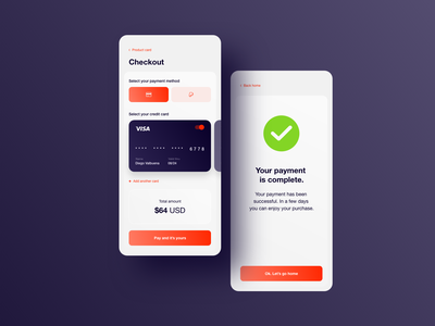Daily UI #002 - Credit Card Checkout interface design interface user experience user interface userinterface ui design ux design uxui daily 100 challenge dailyuichallenge dailyui ui