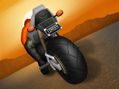 Motorcycle Game Icon ios application icon game motorcycle motor bike