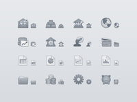 Finance Toolbar Icons