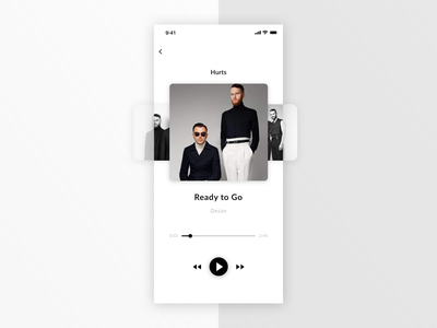 Music Player - Daily UI #009 app music player mobile dailyui009 dailyui dailyuichallange