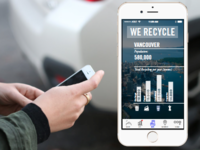 We Recycle app screen