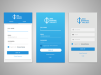 Mobile signup explorations