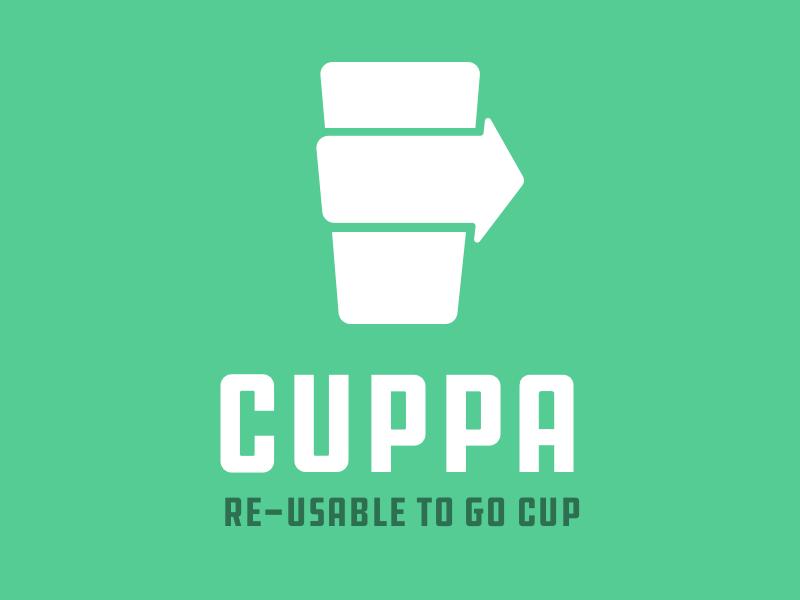 Cuppa Logo coffee icon logo
