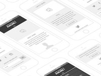 Mobile Site Wireframe