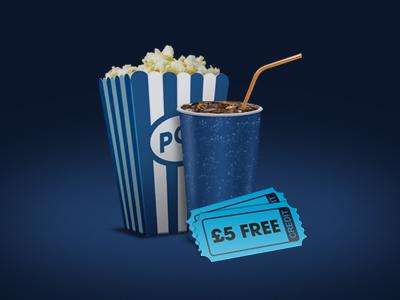 Design Forensics Movie Icons movie films cinema lovefilm netflix icon blinkbox drink popcorn ticket pepsi coca cola coke