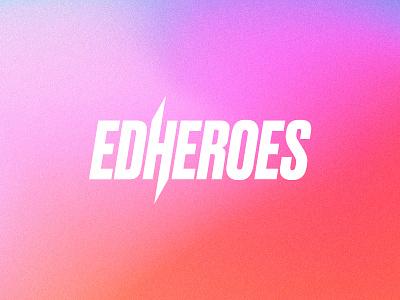 EdHeroes Logo edheroes hidden clever minimalist logo minimalism heroes hero education minimal branding logo
