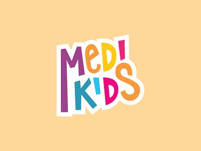 Logo Design - Medikids Moscow medikids medical logo kids design children