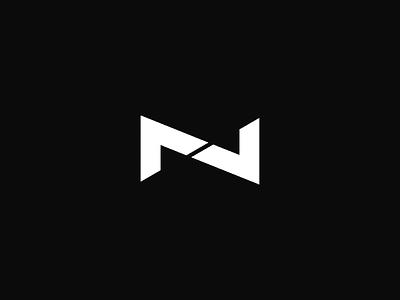 Personal Logo - NV clean identity vantorin nikita vantorin nv logo black minimal logo design