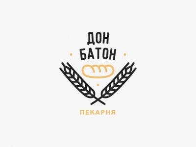 Дон Батон - Logo Design