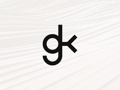 GK Logo identity branding personal branding gennadiy kopeykin gk logotype monogram personal logo