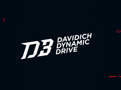 D3 — Logo nikita vantorin nv drive dynamic race d3 branding design motion animation logo
