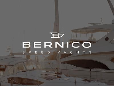 Bernico Speed Yachts Logo nikita vantorin nv speed bernico boat yacht branding minimal design logo
