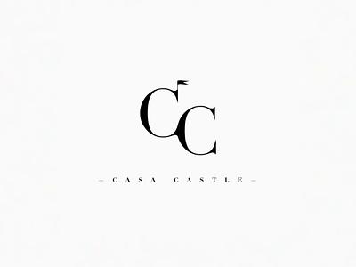 Casa Castle Logo Concepts explore house spain jon olsson concept monogram cc castle casa branding motion minimal animation logo