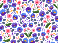 Pansy Pattern