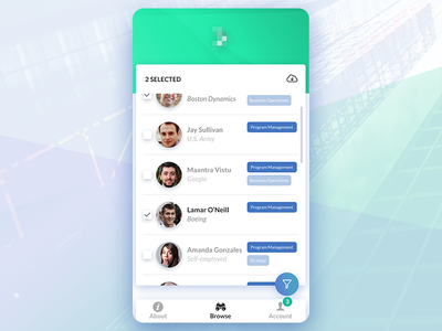 Applicant tracking app search mobile hiring ats system software tracking applicant