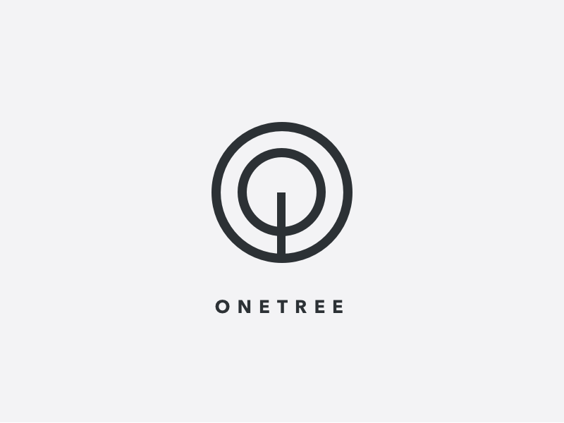 One Tree Logo Concept By Robin Dribbble