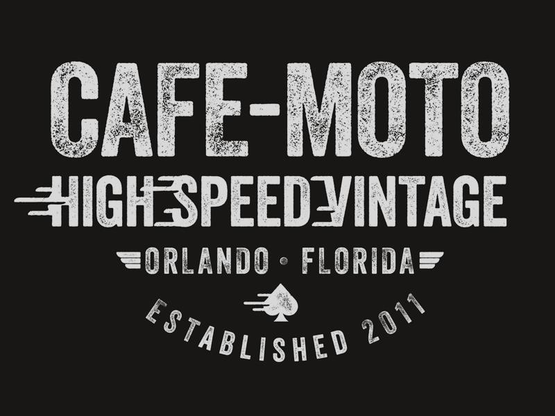 Cafe Moto T-Shirt tshirt