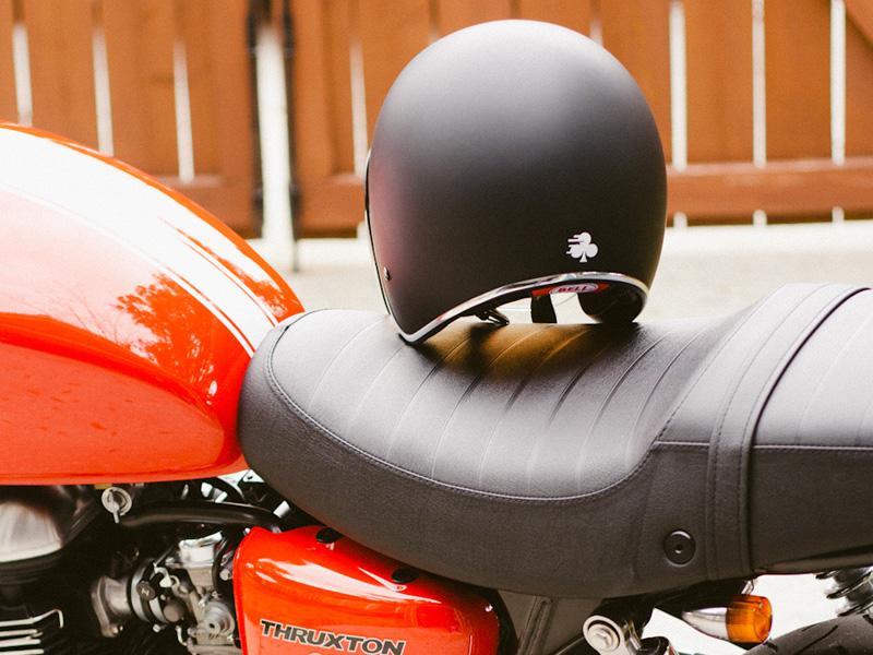 Cafe Moto Logo Sticker logo motorcycle vintage grunge speed