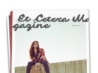 Et Cetera Magazine Masthead