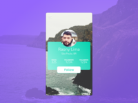 User Profile | Daily UI #006