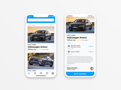 Trent Car Rental App