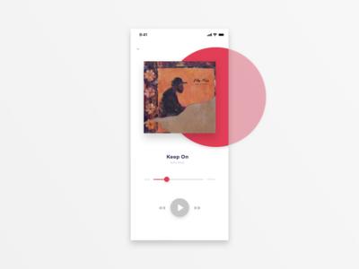 Daily UI #9: Music Player