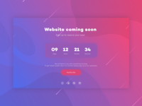 Daily UI #14: Countdown Timer