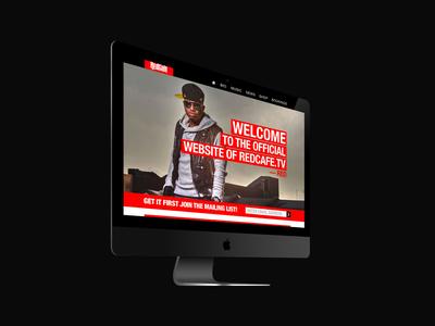 Website UI Redesign Concept
