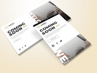 Coming Soon UI Design