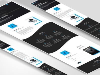 Web Interface & Mobile Design Mockup