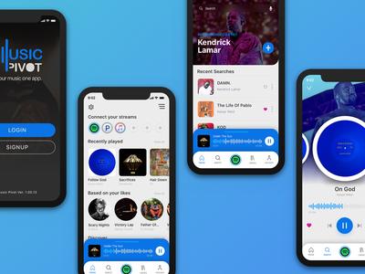 Music Pivot App Concept