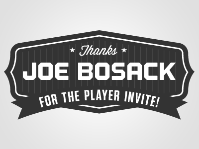 Thanks joe bosack