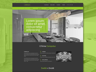 Green and grey website ux design web grey green website webdesign