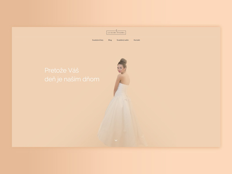 Wedding Dress Rental Site By Marianna Lutková