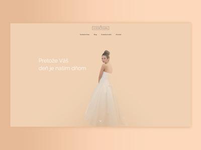 wedding dress rental site web design wedding dress webdesign wedding